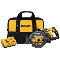 DEWALT - FLEXVOLT 60V MAX 714 in Cordless Worm Drive Style Saw 90Ah Battery Kit - DCS577X1