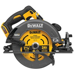 DEWALT - FLEXVOLT 60V MAX Brushless  714 in Cordless Circular Saw with Brake Tool Only - DCS578B