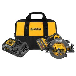 DEWALT - FLEXVOLT 60V MAX Brushless  714 in Cordless Circular Saw with Brake Kit - DCS578X1