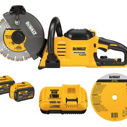 DEWALT - FLEXVOLT 60V MAX CORDLESS BRUSHLESS 9 IN CUTOFF SAW KIT - DCS690X2