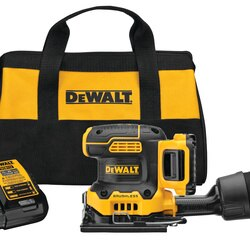 DEWALT - 20V MAX XR  Cordless 14 Sheet Variable Speed Sander Kit 20 Ah Battery - DCW200D1