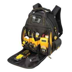 Dewalt Drawstring Bag Backpack Black with Yellow Dewalt Logo