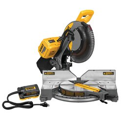 DEWALT - FLEXVOLT 12 in 305 mm 120V MAX Double Bevel Compound Miter Saw Tool Only - DHS716AB