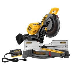 DEWALT - 12 305mm 120V MAX Double Bevel Sliding Compound Miter Saw with CUTLINETM Blade Positioning System includes 120V adapter - DHS790AB