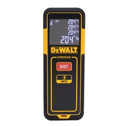 DEWALT - 65 ft Laser Distance Measurer - DW065E