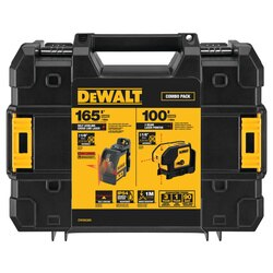 DEWALT - Red Line Laser Level  Spot Laser Combination Kit - DW0838K