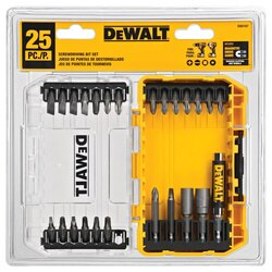 DEWALT - 25 Pc Screwdriving Set with Tough Case - DW2167