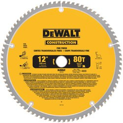 DEWALT - 12 Construction Miter Saw Blades - DW3128