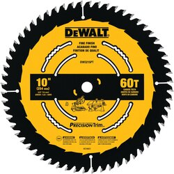 DEWALT - 10 60T Smooth Crosscutting Saw Blade - DW3215PT