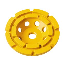 DEWALT - 4 double row diamond cup grinding wheel - DW4772