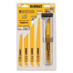 DEWALT - 16 Piece BiMetal Reciprocating Saw Blade Set with Case - DW4899