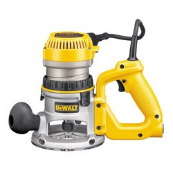 DEWALT - 214 HP maximum motor HP EVS DHandle Router with Soft Start - DW618D