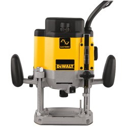 DEWALT - 3 HP maximum motor HP EVS Plunge Router - DW625