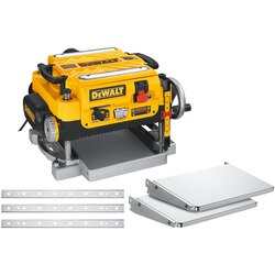 DEWALT - 13 in Three Knife Two Speed Thickness Planer - DW735X