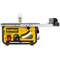 DEWALT - 10 in Compact Job Site Table Saw with SitePro Modular Guarding System - DW745