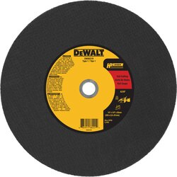 DEWALT - 14 X 18 X 20MM Aluminum Oxide A24P High Speed Cutting Wheel - DW8021R