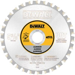 DEWALT - 538 30T Aluminum Cutting Saw Blade 20mm Arbor - DW9052