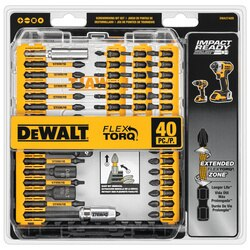 DEWALT - 40Pc IMPACT READY Screwdriving Set - DWA2T40IR