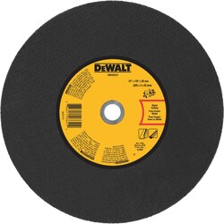 DEWALT - 12 x 18 x 20mm Metal Portable Saw CutOff Wheel - DWA8033