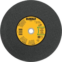 DEWALT - 12 x 18 x 20mm ConcreteMasonry Portable Saw CutOff Wheel - DWA8037