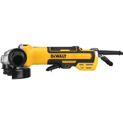DEWALT - 5 in Brushless Paddle Switch Small Angle Grinder with Kickback Brake NoLock Variable Speed - DWE43214NVS