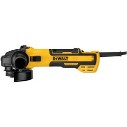 DEWALT - 5 in Brushless Variable Speed Slide Switch Small Angle Grinder with Kickback Brake and Pipeline Cover - DWE43231VS