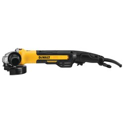 DEWALT - 5 in  6 in Brushless Small Angle Grinder Rat Tail with Kickback Brake No LockOn - DWE43265N