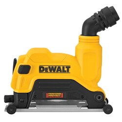 DEWALT - 412 in  5 in 115mm  125mm Cutting Grinder Dust Shroud - DWE46125