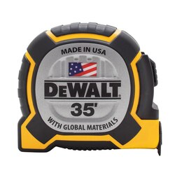 DEWALT - 35 ft XP Tape Measure - DWHT36235S