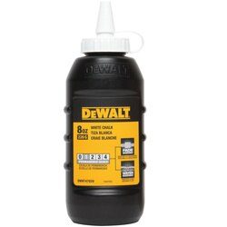 DEWALT - 8 oz Chalk  White - DWHT47029L