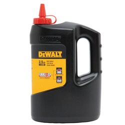 DEWALT - 25 lbs Chalk  Red - DWHT47057