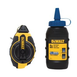 DEWALT - 31 Chalk Reel with Blue Chalk - DWHT47373L