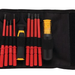 DEWALT - InsulatedVinyl Grip Screwdriver Set - DWHT66417