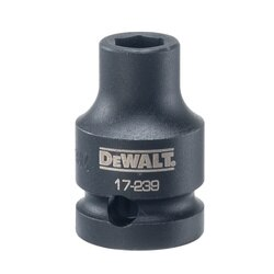 DEWALT - 12 in Drive 6 pt Impact Socket 9 mm - DWMT17239