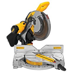 DEWALT - 15 Amp 12 in Electric DoubleBevel Compound Miter Saw with CUTLINE - DWS716XPS