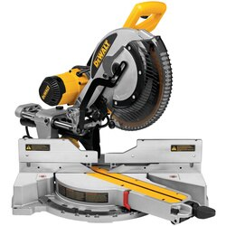 DEWALT - 12 In DoubleBevel Sliding Compound Miter Saw - DWS779