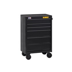DEWALT - 26 in Wide 6Drawer Rolling Tool Cabinet - DWST22760