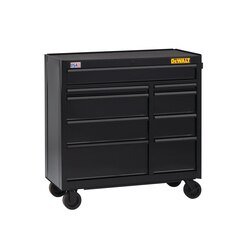 DEWALT - 41 in Wide 9Drawer Rolling Tool Cabinet - DWST24190