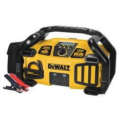 DEWALT - Professional Power Station Jumpstarter Inverter Air Compressor - DXAEPS2
