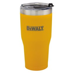 DEWALT - 30 oz Yellow Powder Coated Tumbler - DXC30OZTYS