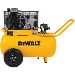 DEWALT - 20 gal 200 psi Oil Lubed Belt Drive Portable Horizontal Electric Air Compressor - DXCM201