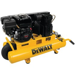 DEWALT - 8 Gal 150 PSI 55 HP Belt Drive GasPowered Wheelbarrow Air Compressor - DXCMTB5590856