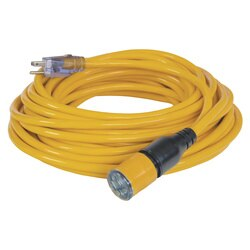 DEWALT - 50 ft 123 Lighted Locking CGM Extension Cord - DXEC14412050