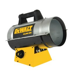 Forced Air Propane Heater >> 65 000 Btu Hr Forced Air Propane Heater Dxh65fav Dewalt