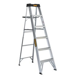 DEWALT - 6ft Aluminum 250lb Type I Step Ladder - DXL2110-06
