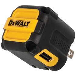 DEWALT - NeverBlockR 2Port Worksite USB Charger - DXMA1310849