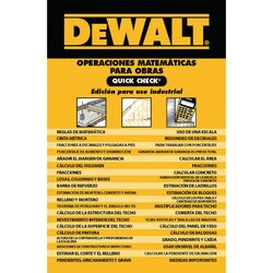 Reference Guides | Exam Certification Prep | DEWALT