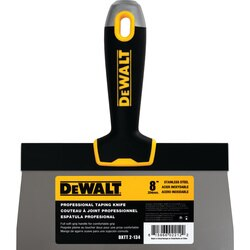 DEWALT - Stainless Steel Taping Knife with Soft Grip Handle - DXTT-2-134
