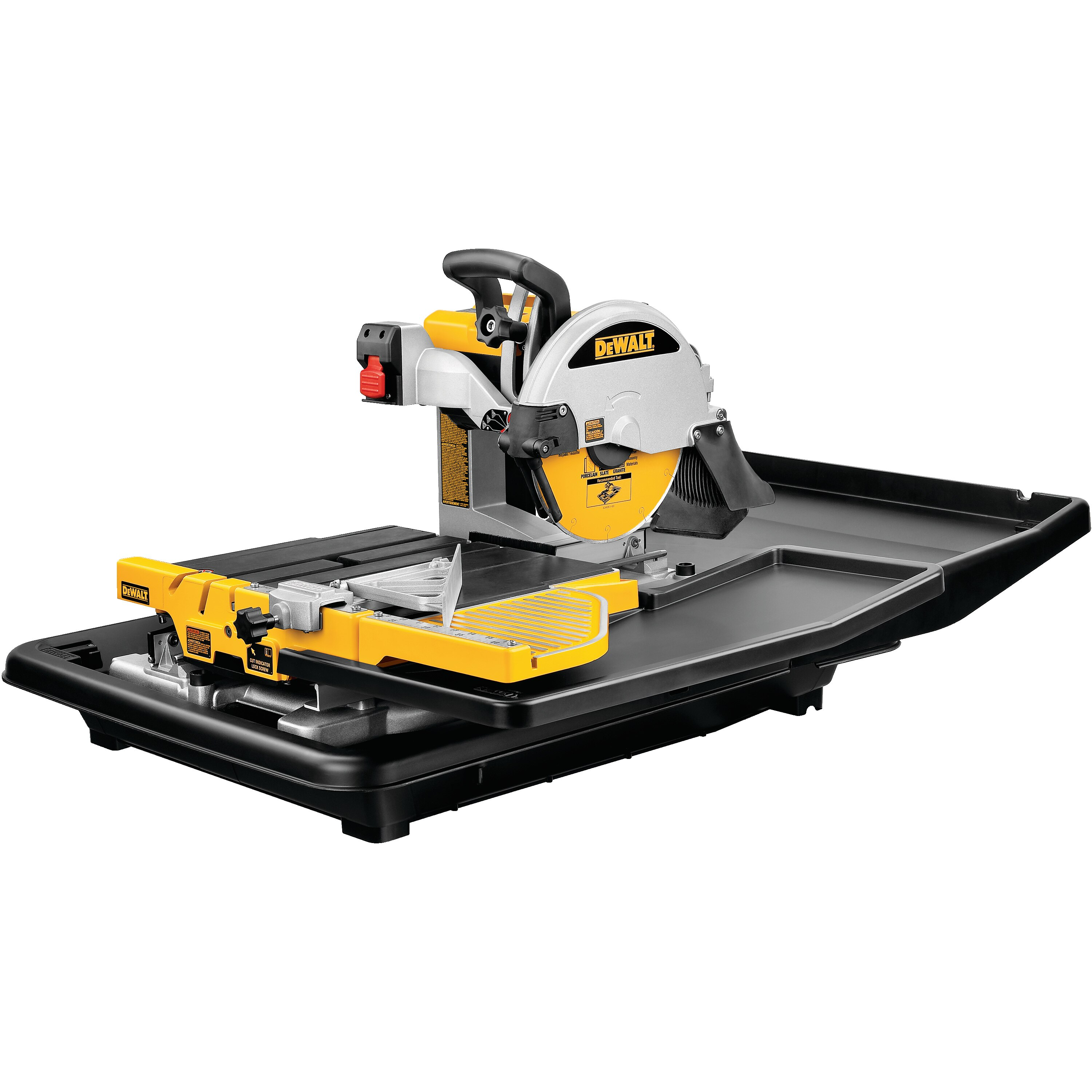 10 In Wet Tile Saw D24000 Dewalt