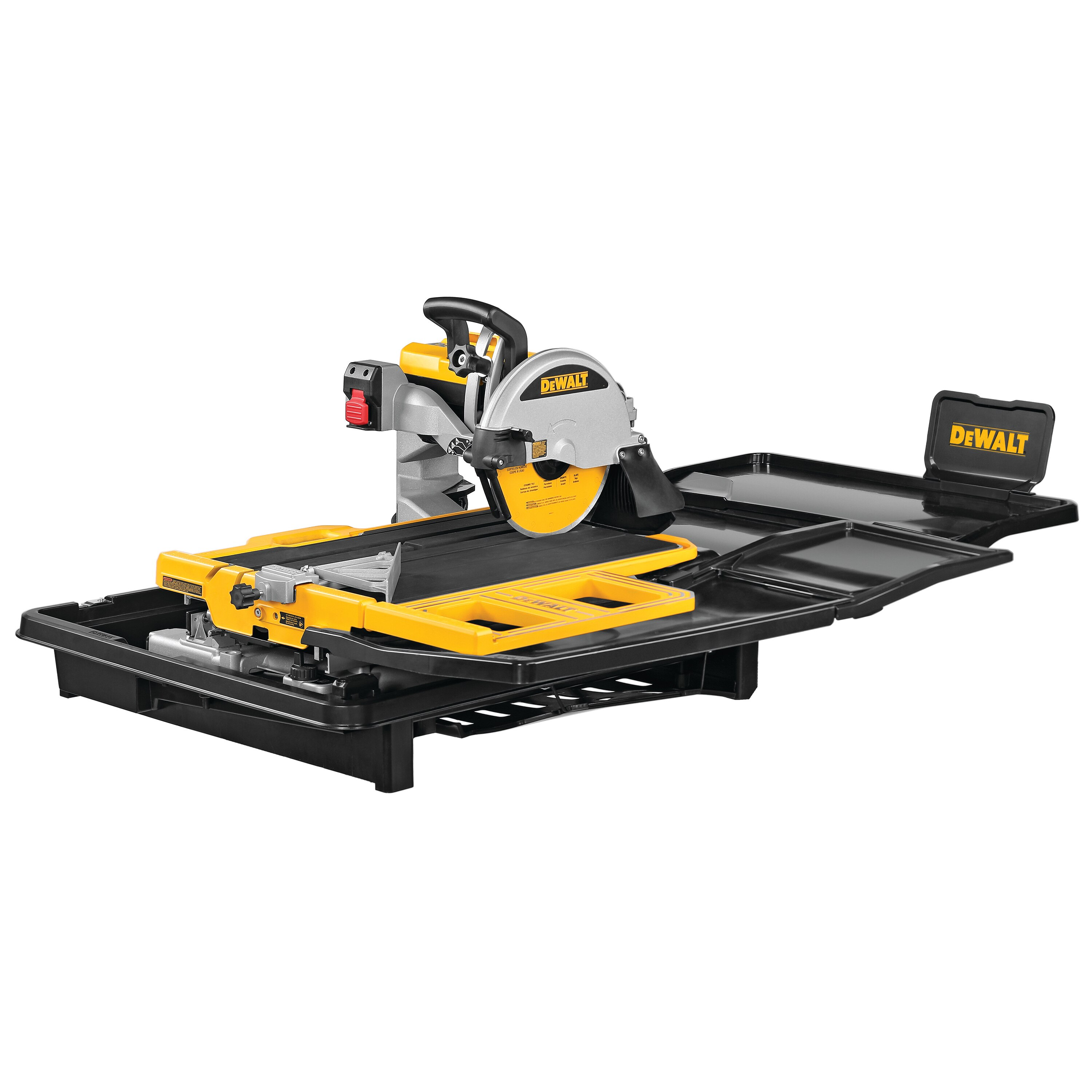10 In High Capacity Wet Tile Saw D36000 Dewalt